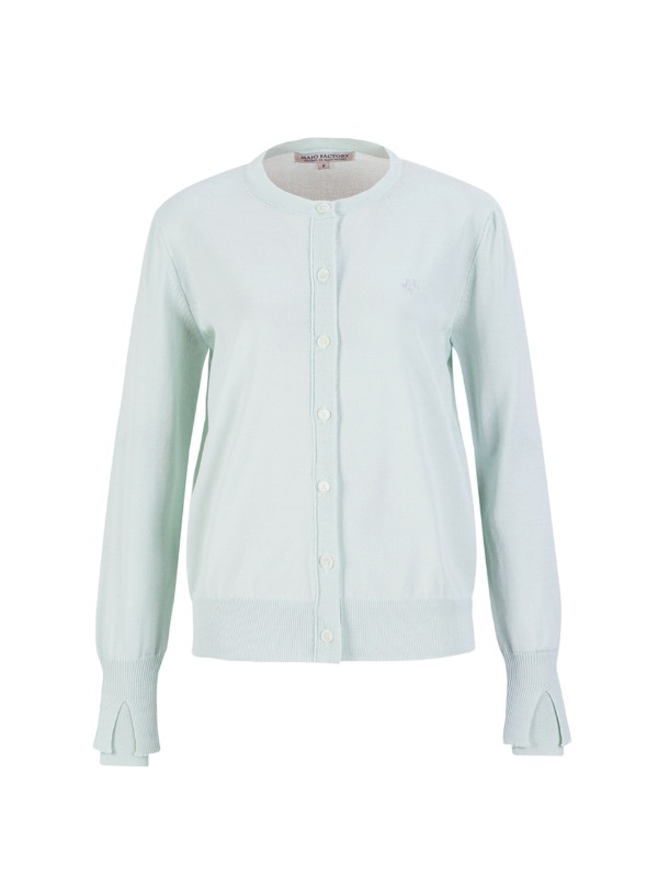 Layered Sleeve Cardigan [Pastel Mint]