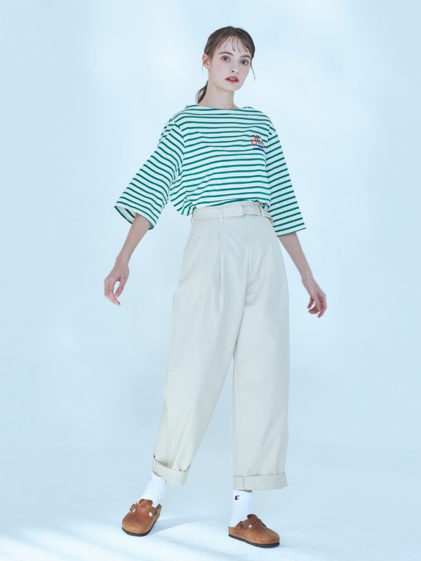 Classic Stripe T-shirt [Green]