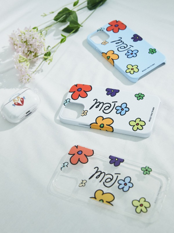 Majo Flower Phone Case [3 Color]
